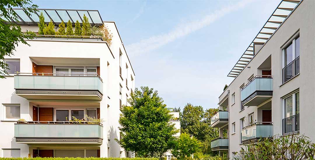 logements avec balcons